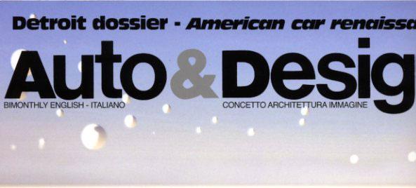 Auto & Design n. 193, Sassi Design pag. 70-72